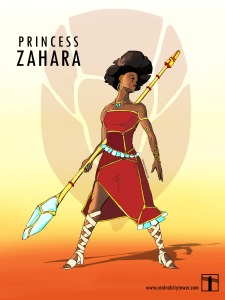 Spider-Stories-Princess-Zahara