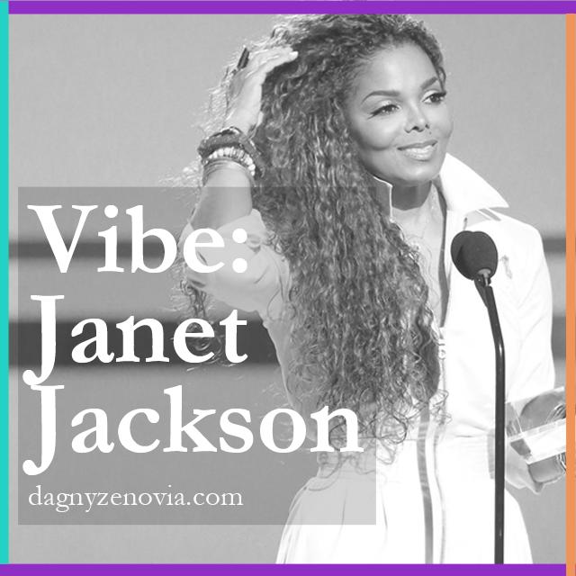 Vibe: Janet Jackson via dagnyzenovia.com