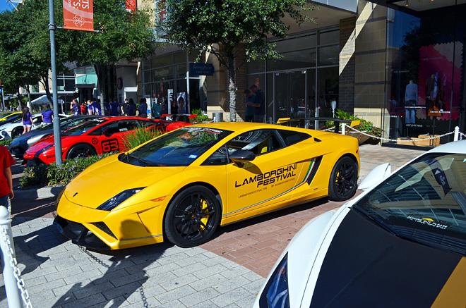Dagny Zenovia: Lamborghini Festival Houston 2016