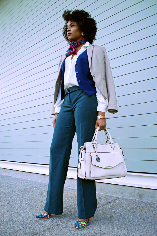 Dagny Zenovia Green Pants 70s Style