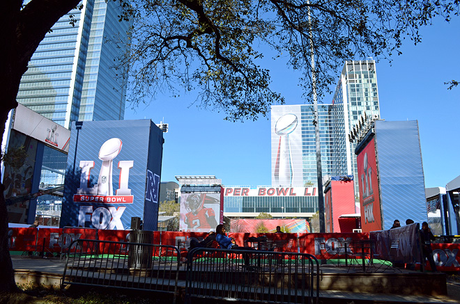 Dagny Zenovia Super Bowl 51 Houston Recap