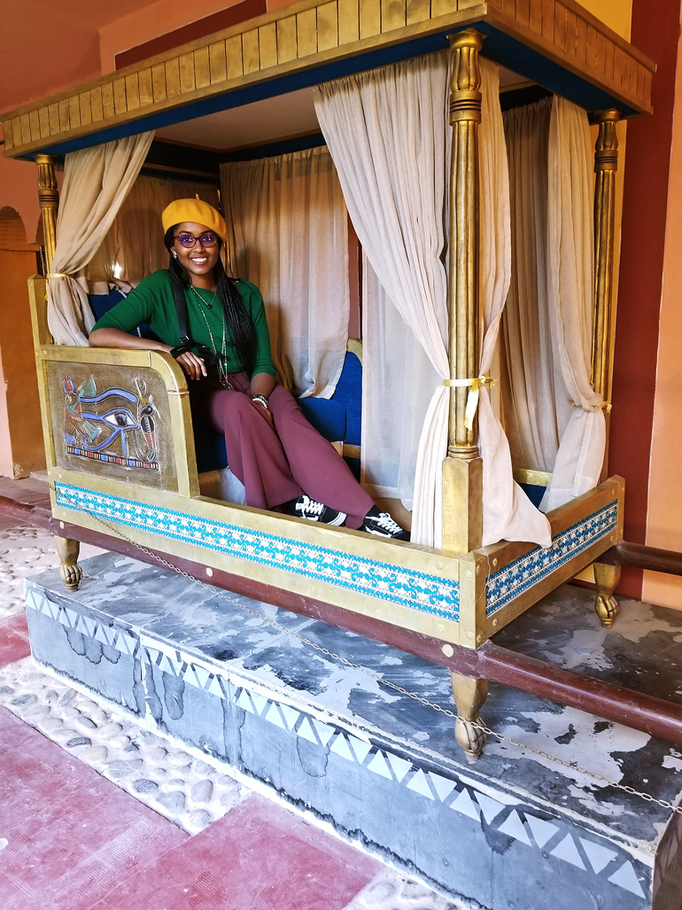 Dagny Zenovia Morocco Travel