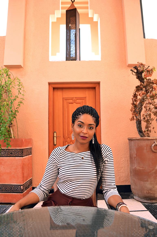 Dagny Zenovia Morocco Stripe Sweater 1