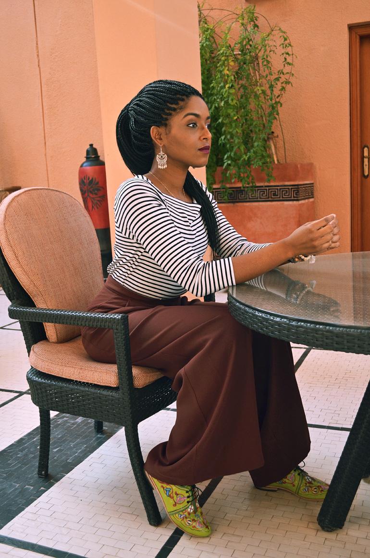 Dagny Zenovia Morocco Stripe Sweater 2