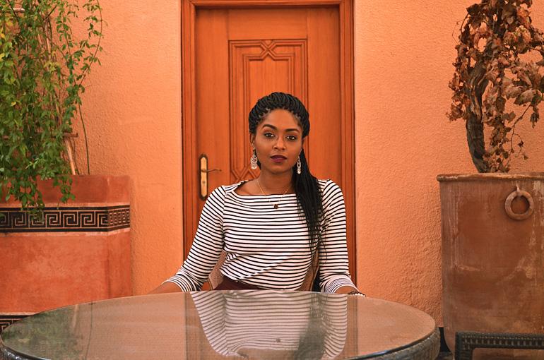 Dagny Zenovia Morocco Stripe Sweater 4