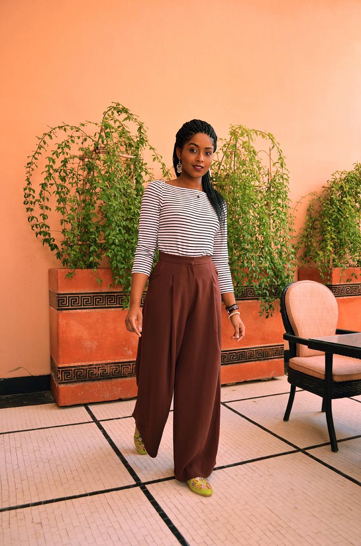 Dagny Zenovia Morocco Stripe Sweater 6