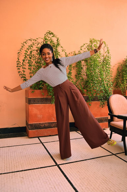 Dagny Zenovia Morocco Stripe Sweater 7